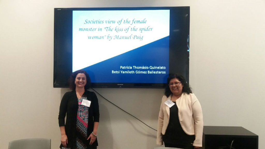 Patricia and Betsi present at MSU (2018)