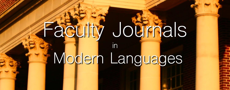 Faculty Journals