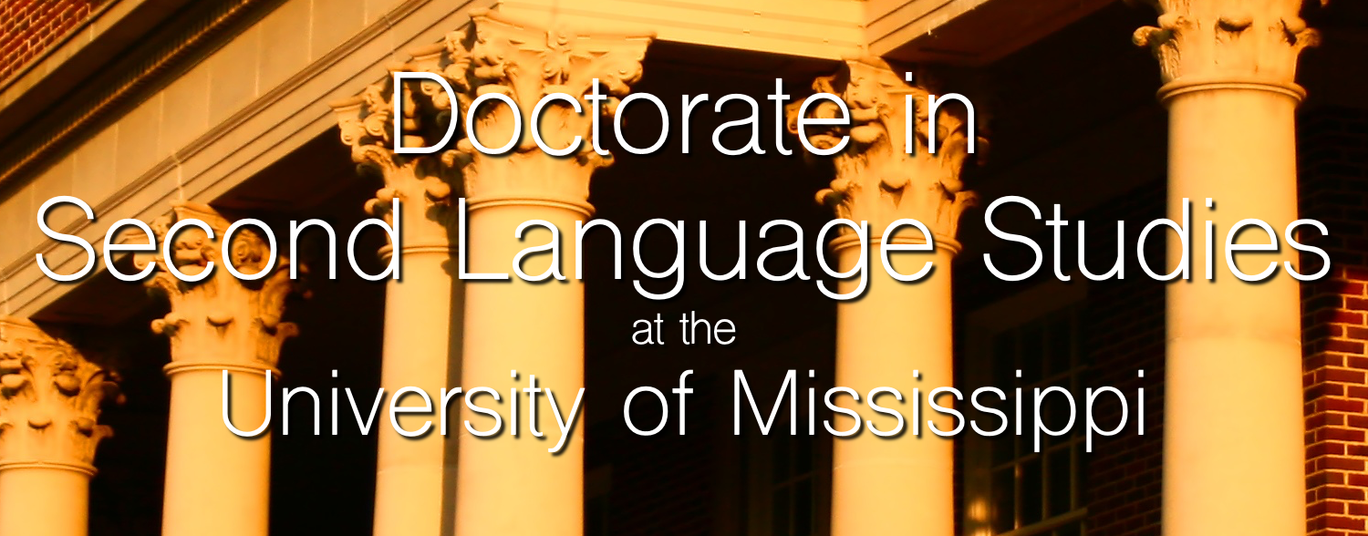 PhD in Second Language Studies