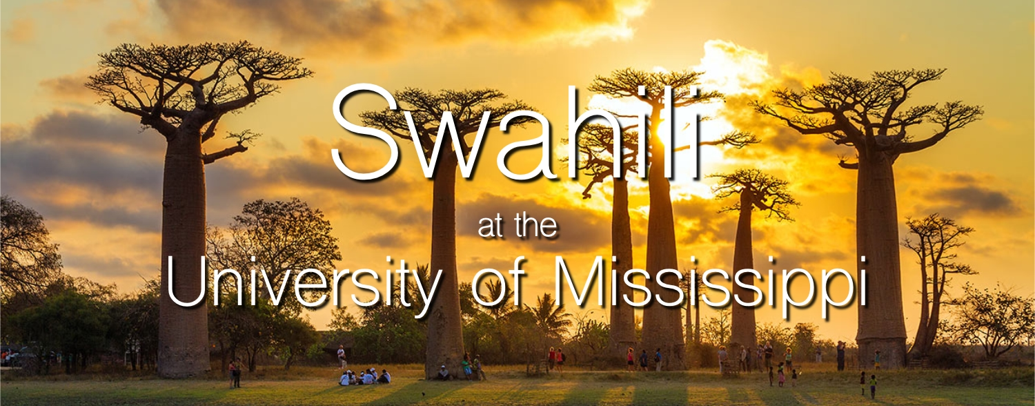 Swahili at the University of Mississippi