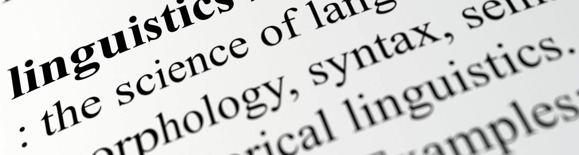 Linguistics Definition