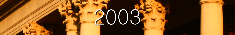 Header 2003